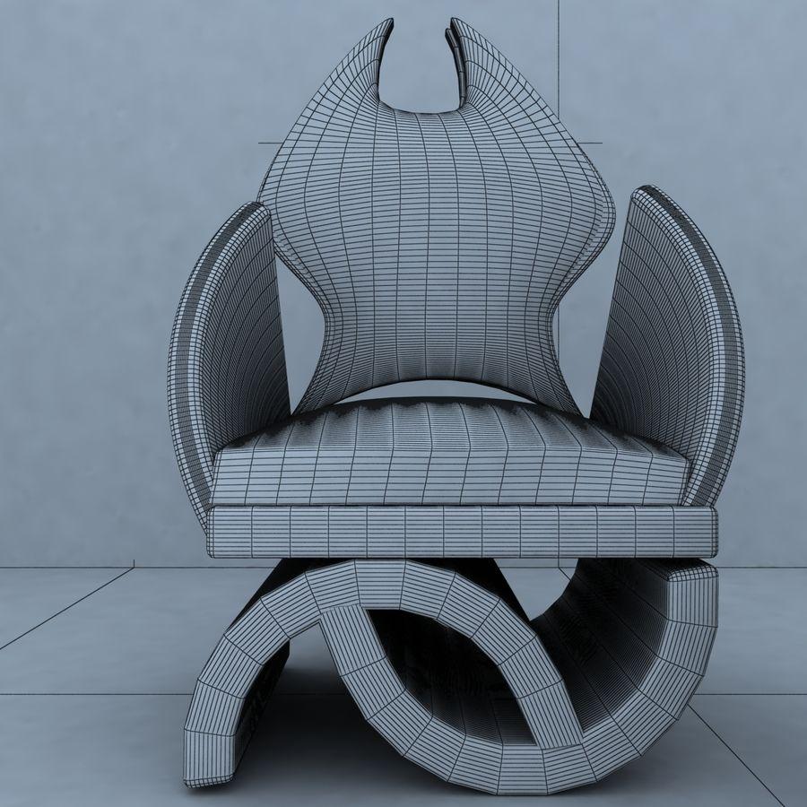 sillón 1 royalty-free modelo 3d - Preview no. 8