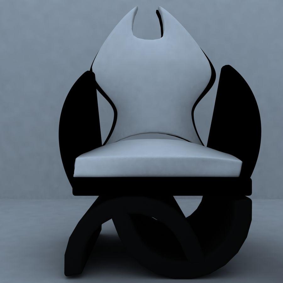 sillón 1 royalty-free modelo 3d - Preview no. 4