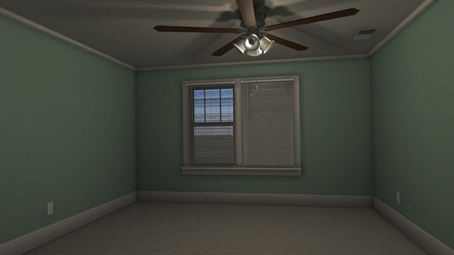 Wohnung Interieur royalty-free 3d model - Preview no. 3