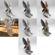 鷲の像 3d model