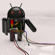 Android Droid 3d model