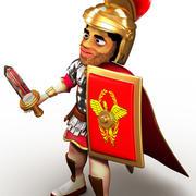 Centurion Cartoon 3d model
