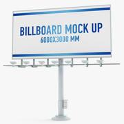 рекламный щит 3d model