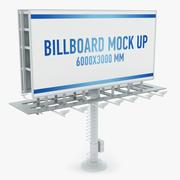 Billboard two side 3d model