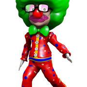 Clown Cartoon 3d model