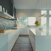 nowoczesna kuchnia 3d model