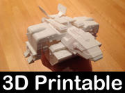 Starship Troopers Dropship 3d model