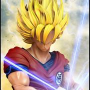Goku, Dragon Ball. 3d model
