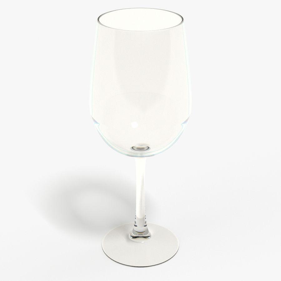와인 한 잔 royalty-free 3d model - Preview no. 7