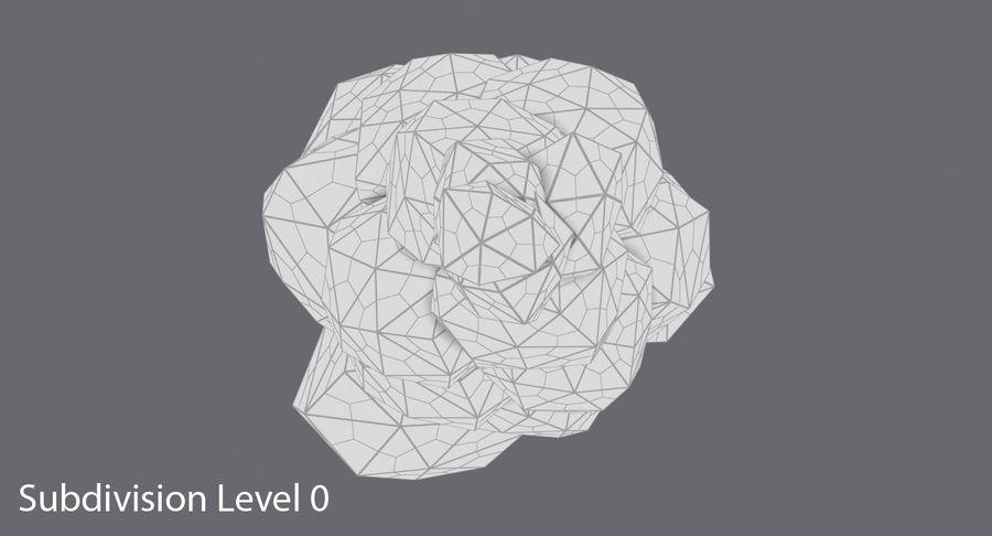 低聚绿叶树3 royalty-free 3d model - Preview no. 13