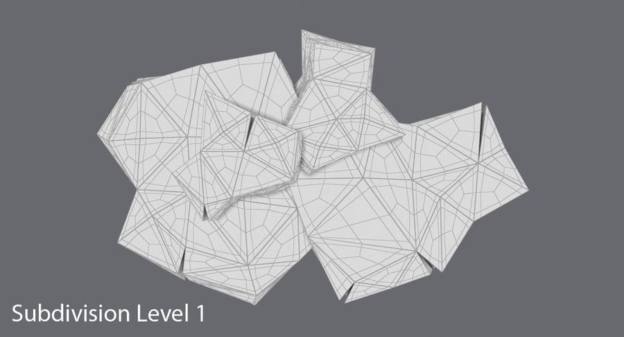 低ポリ岩02 royalty-free 3d model - Preview no. 11