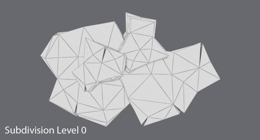 低ポリ岩02 royalty-free 3d model - Preview no. 10
