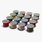 咖啡胶囊 3d model