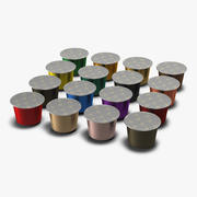 Coffee Capsules 3d model