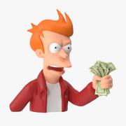 Fry - Håll käft och ta mina pengar 3d model