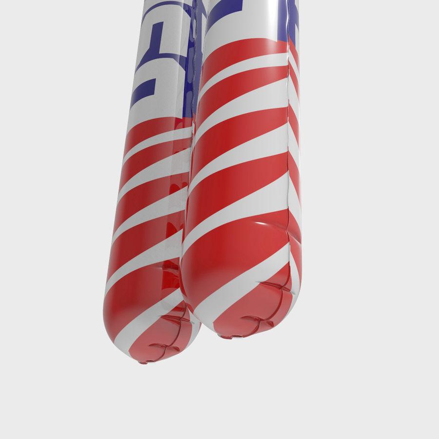 Boom Boom Sticks royalty-free 3d model - Preview no. 4