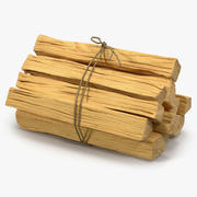 Bundle of Kindling Wood 3D Model 3d model