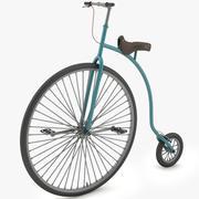 Bicicleta de caballeros modelo 3d