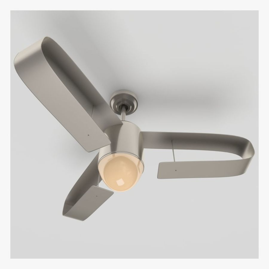 Ceiling Fan royalty-free 3d model - Preview no. 7