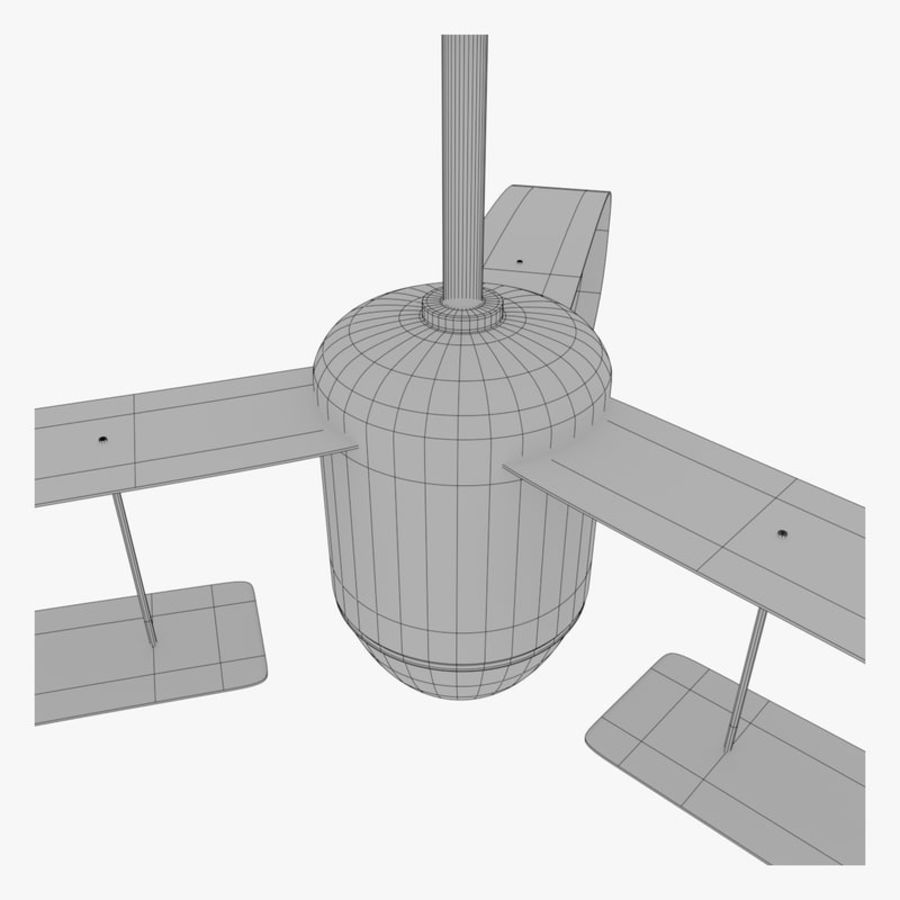 Ceiling Fan royalty-free 3d model - Preview no. 11