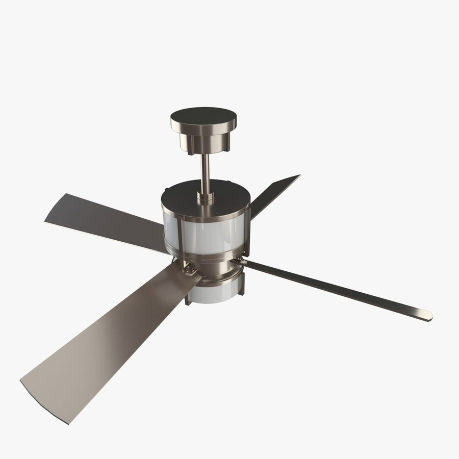 Ceiling Fan royalty-free 3d model - Preview no. 2
