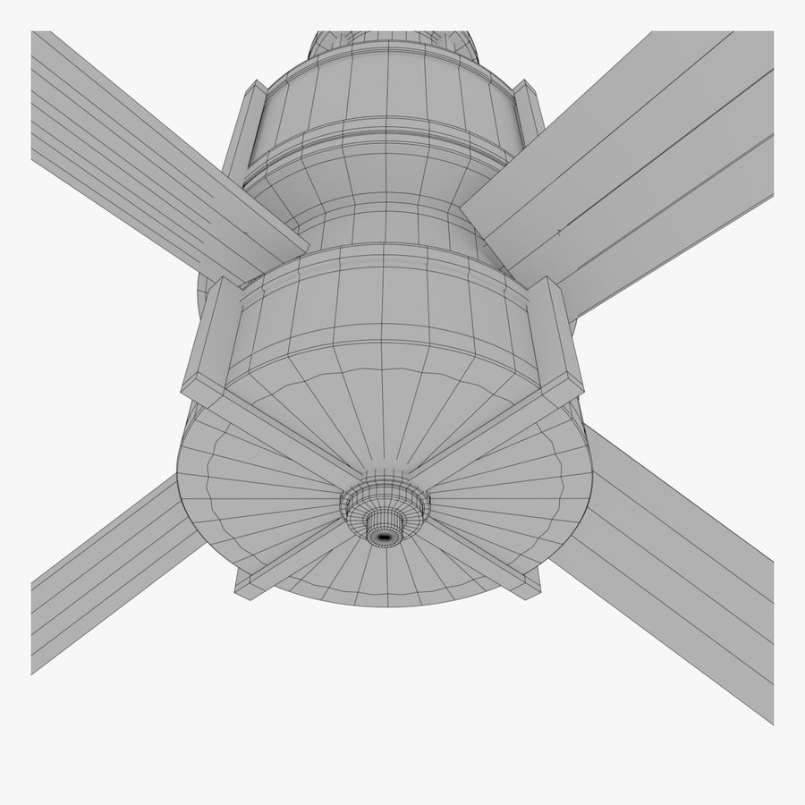 Ceiling Fan royalty-free 3d model - Preview no. 10