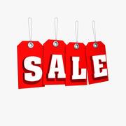 Sale Tag 3d(1) 3d model