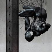 黑色蜘蛛侠,奇迹。 3d model
