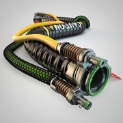 Rura gazowa 3d model