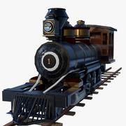 Train à vapeur 3d model