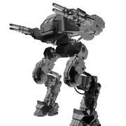Battle_mech_Seizmic 3d model