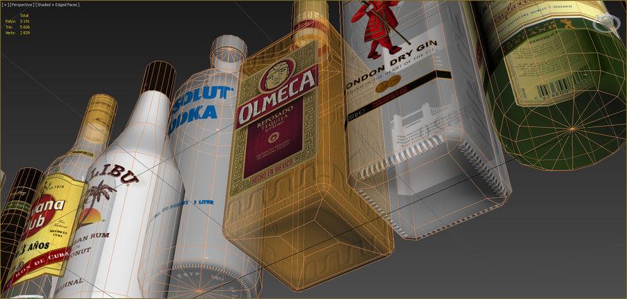 アルコール飲料コレクション royalty-free 3d model - Preview no. 12