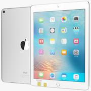 Apple iPad Pro 9.7 Silver com bandeja SIM e Wi-Fi 3d model