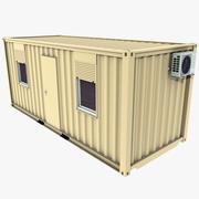Büro konteyneri 3d model