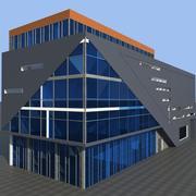 近代的なオフィスビル 3d model