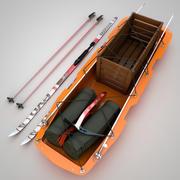 Cargo Sled 3d model