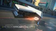 Hi-Tech Arrow 3d model