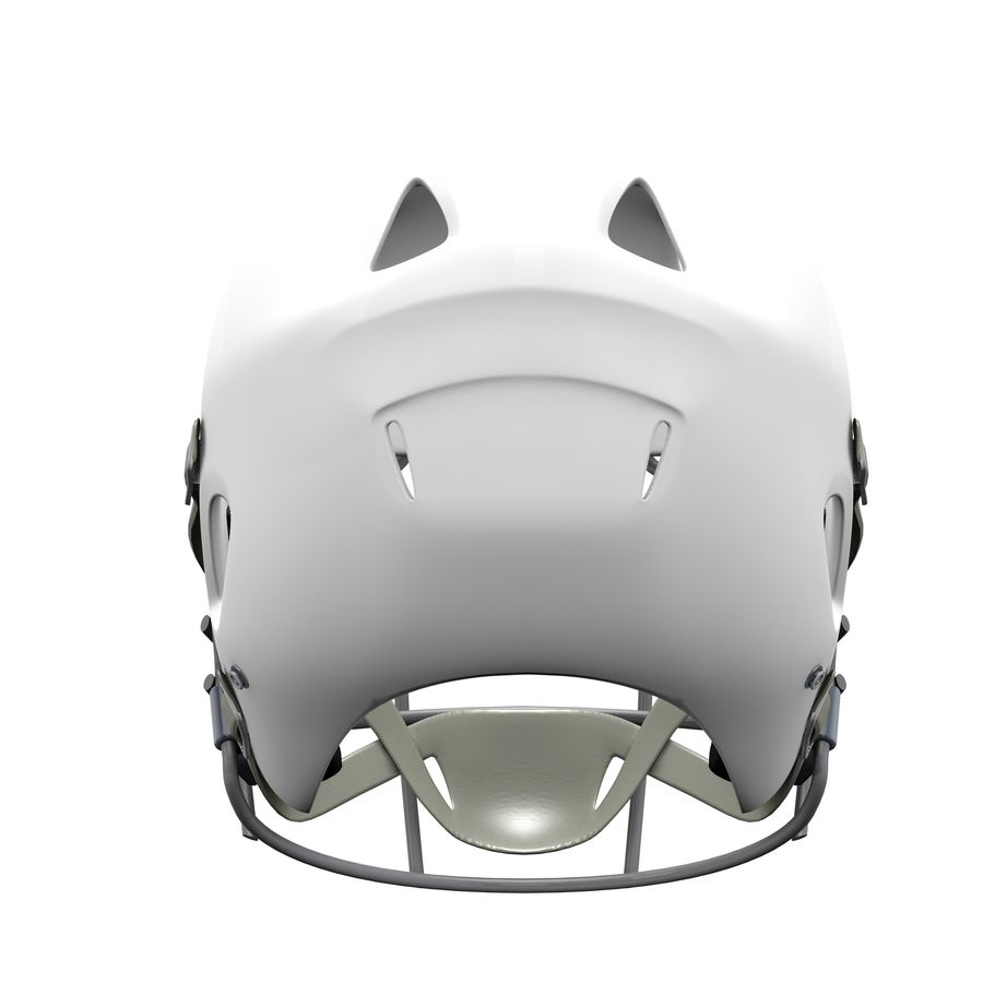 Casco da football royalty-free 3d model - Preview no. 12