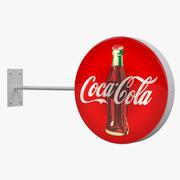 Знак кока-колы 3d model