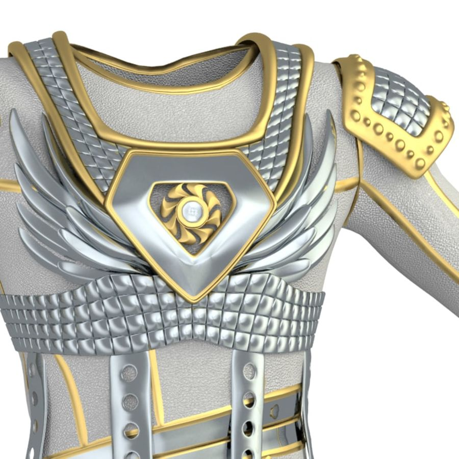 armor royalty-free 3d model - Preview no. 35