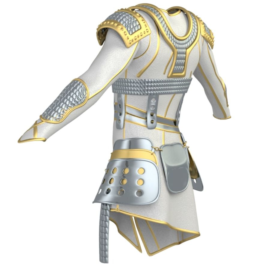 armor royalty-free 3d model - Preview no. 28