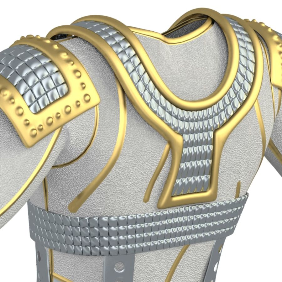 armor royalty-free 3d model - Preview no. 16