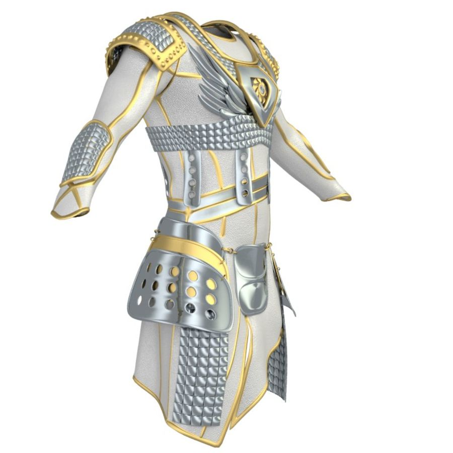 armor royalty-free 3d model - Preview no. 32
