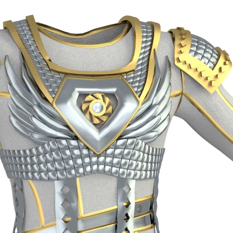 armor royalty-free 3d model - Preview no. 11