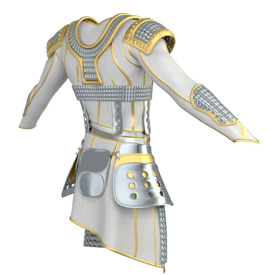 armor royalty-free 3d model - Preview no. 7