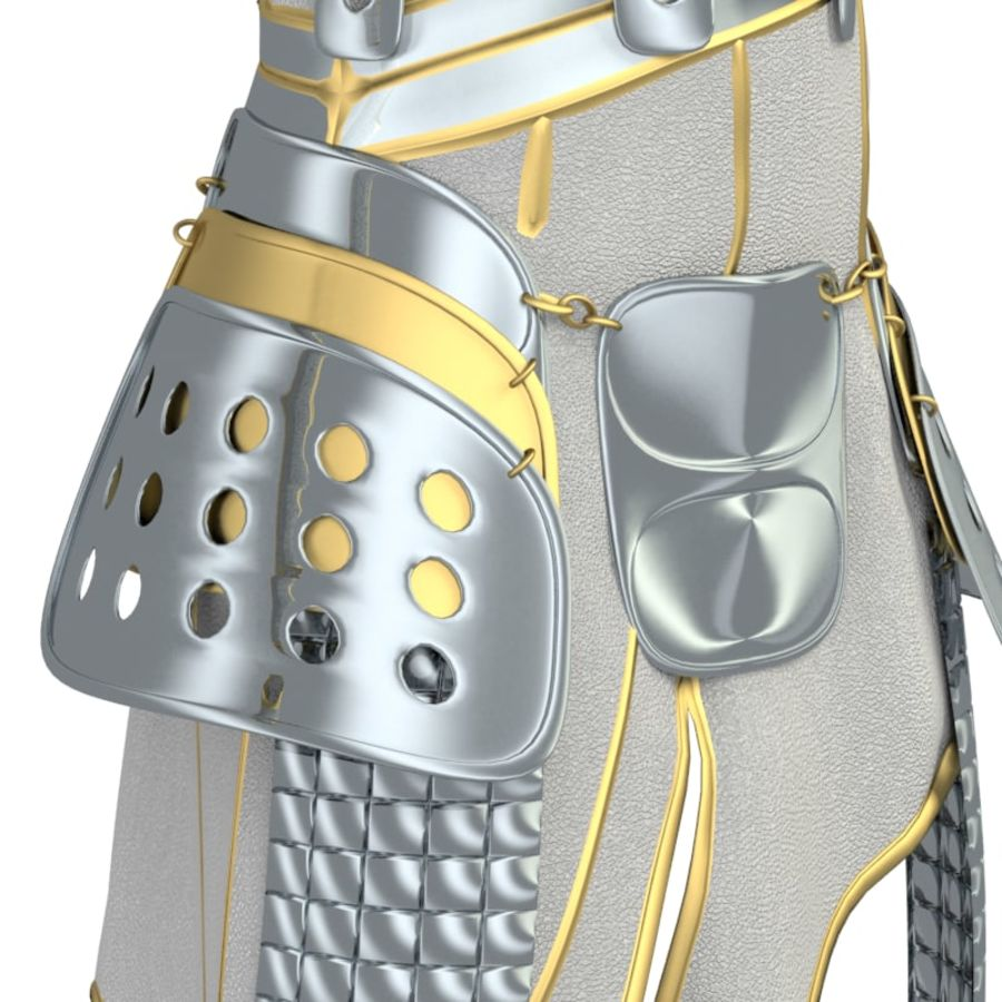 armor royalty-free 3d model - Preview no. 37