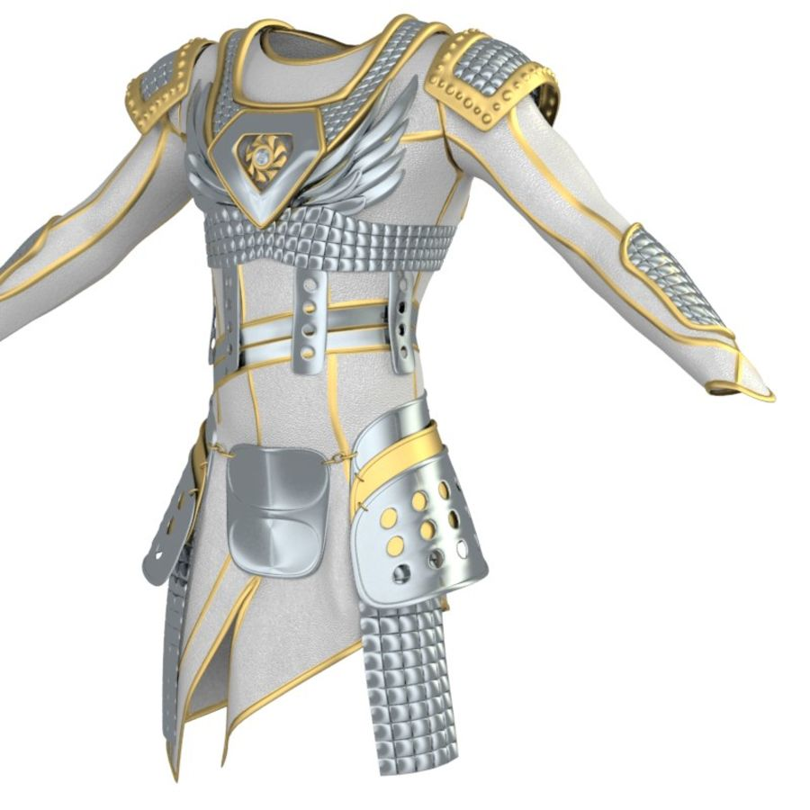 armor royalty-free 3d model - Preview no. 25
