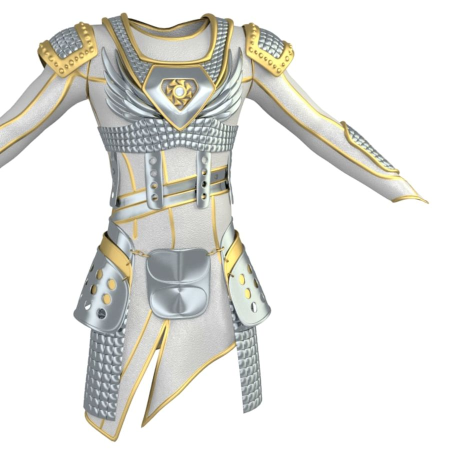 armor royalty-free 3d model - Preview no. 24