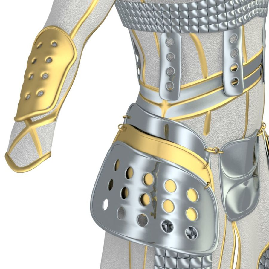 armor royalty-free 3d model - Preview no. 17