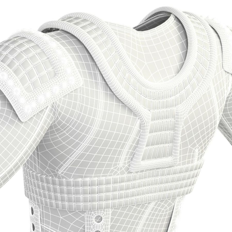 armor royalty-free 3d model - Preview no. 23